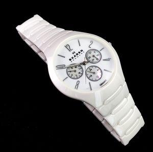 Skagen Women's 817SXWC1 Chronometer White Ceramic